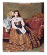 A Mother's Darling Fleece Blanket