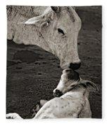 A Mother's Love Monochrome Fleece Blanket