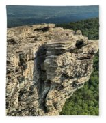 A Mountain Perspective Fleece Blanket