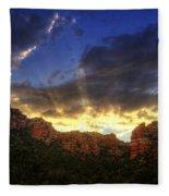 A Ray Of Sunshine  Fleece Blanket