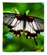 A Real Beauty Butterfly Fleece Blanket