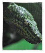 A Real Reptile Fleece Blanket
