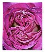 A Rose Is A Rose ... Fleece Blanket
