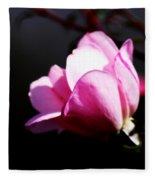 A Simple Rose Fleece Blanket