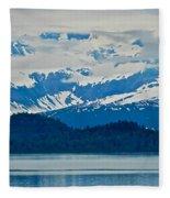 A Slice Of Alaska Fleece Blanket