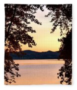A Soothing Sunset Fleece Blanket