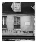A St Pierre De Montmartre In Paris Fleece Blanket