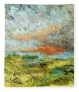 A Storm Is Coming Fleece Blanket