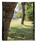 A Tranquil Moment Fleece Blanket