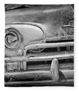 A Vintage Junk Plymouth Auto Fleece Blanket
