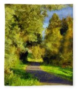 A Walk Amongst Nature Fleece Blanket
