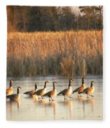A Walk In The Park  Fleece Blanket