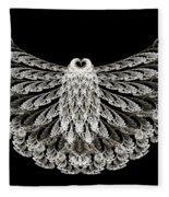 A Wise Old Owl Fleece Blanket