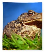 A Worm's Eye View Fleece Blanket