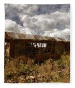 Abandoned Fleece Blanket