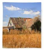 Abandoned Farmhouse 7 Fleece Blanket