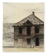 Abandoned Homestead - Okanogan Washington Fleece Blanket