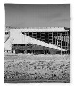 Abandoned Trotter Park Fleece Blanket