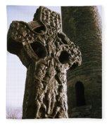 Abbey Of Kells, Kells, County Meath Fleece Blanket
