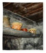Above The Stove Fleece Blanket