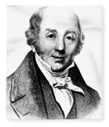 Abraham Colles, Irish Surgeon & Fleece Blanket