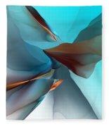 Abstract 011612 Fleece Blanket