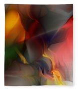 Abstract 021912a Fleece Blanket
