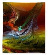 Abstract 022712 Fleece Blanket