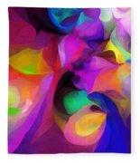 Abstract 041412 Fleece Blanket