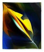 Abstract 051112 Fleece Blanket