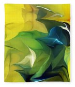 Abstract 052912 Fleece Blanket