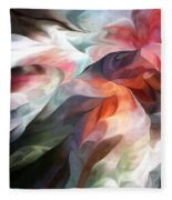 Abstract 062612 Fleece Blanket
