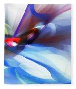 Abstract 081712 Fleece Blanket