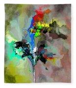 Abstract 082412-1 Fleece Blanket