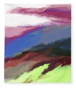 Abstract 082511 Fleece Blanket
