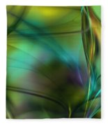 Abstract 090711a Fleece Blanket