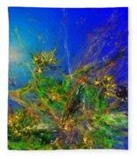 Abstract 090811 Fleece Blanket