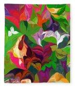 Abstract 090912 Fleece Blanket