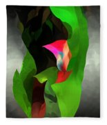 Abstract 091912a Fleece Blanket