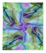 Abstract 10 Fleece Blanket
