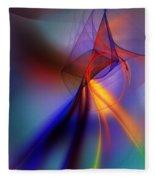 Abstract 101211 Fleece Blanket