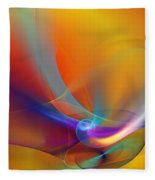 Abstract 110211 Fleece Blanket