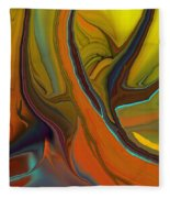 Abstract 110311 Fleece Blanket