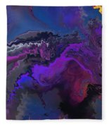 Abstract 112711a Fleece Blanket
