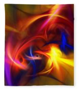 abstract 112811A Fleece Blanket