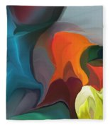 Abstract 122211 Fleece Blanket