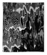 Abstract 13b Fleece Blanket