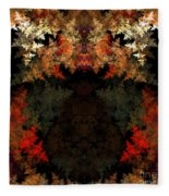 Abstract 178 Fleece Blanket