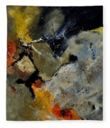 Abstract 181121 Fleece Blanket