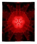 Abstract 20 - Rb Fleece Blanket